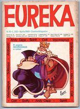EUREKA N.18 editoriale corno 1969 maxmagnus will eisner 's the spirit alley oop