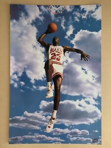 Michael Jordan Chicago Bulls Nike Poster *Perfect Condition
