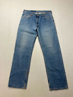 LEVI 'STRAIGHT' Jeans - W36 L34 - Blue - Great Condition