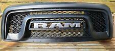 2015 - 2019 RAM 1500 Rebel Front Grille Assembly Black MOPAR OEM Used