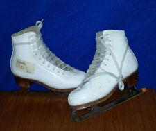 Youths 1.5 A Leather Figure Ice Skates Sp Super Teri C146272 Scuffed Good Used