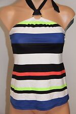 NWT Ralph Lauren Swimsuit Tankini Top Sz 16 Multi