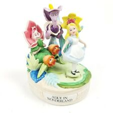 Rare Musical Memories Alice in Wonderland Limited Edition Numbered Music Box