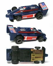 1980 Ideal Majorette TCR MK3 UNION INDY #1 USA Slot Car Unused Great Chassis! A+