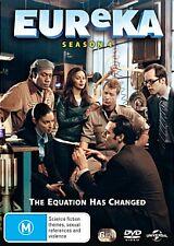 Eureka : Season 4 (DVD, 2012, 6-Disc Set) Brand New & Sealed Region 4 DVD - Free