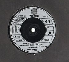 "Thin Lizzy - Thunder And Lightning 7"" Single 1983"
