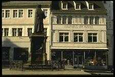 129054 Luther Statue Center Of Town Square A4 Photo Print