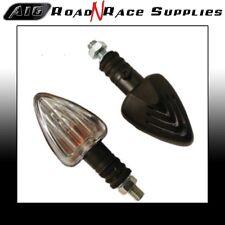 Motorbike Mini ARROW INDICATORS - Black -  Bulb - A16