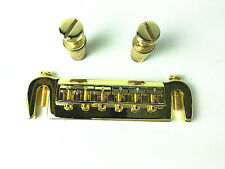 Badass Style Wrap Around Bridge Stop Tailpiece-Golden