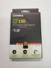 Edimax EW-7811Un Wireless N 150 WI-FI Nano USB Adapter, Windows Mac Raspberry Pi