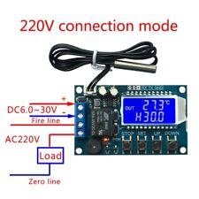 Digital Thermostat Temperature 10A Controller Regulator Heating Cooling Control