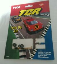 Tyco Slot Car Racing TCR Tune-Up Kit – Shoes Springs Steering Sleeves, Tires NOS