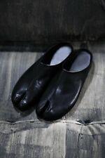 ByTheR Simple Leather Tabi Bloafer Shoes Ninjawear Split RARE Black US Size 10 N