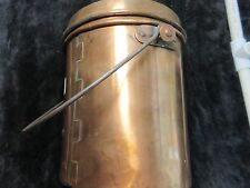 Vintage Kettle, Copper Trade Kettle, Rendezvous, Mountain Man, Copper Pot,  #C1