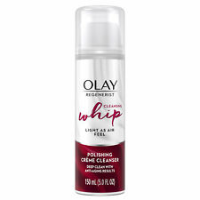 Olay Regenerist Cleansing Whip Facial Cleanser Light as Air Feel