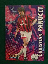 CALCIO 97 1997 CARDS n.38 MILAN CHRISTIAN PANUCCI , Figurina Card Panini NEW