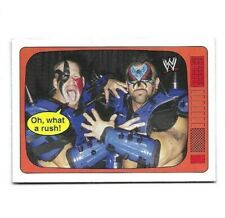 "2012 TOPPS HERITAGE WWE ROAD WARRIORS ""SPEAK"" INSERT WRESTLING CARD #4"
