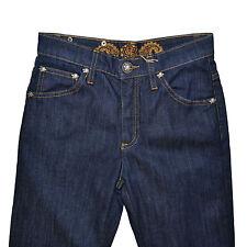 MARLBORO CLASSICS Jeans Classique Stretch 25 Blue Straight Leg Western 35F Boots