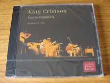 CD Album: King Crimson : Live In Guildford England 1972 Sealed