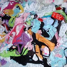 LOT 200 Mixed Womens Bikinis Thongs Tangas G-String Panties Underwear O/S S M L