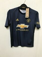 1528b310ab0 Manchester United Boy s adidas 18 19 3rd Shirt - 11-12 Years - C