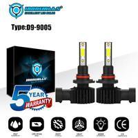 IRONWALLS 9005 HB3 LED Headlight Kit 2200W 330000LM Hi/Lo Beam Bulb 6000K White