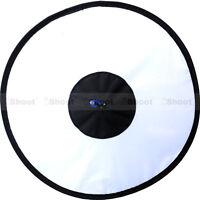 44cm Easy-fold Round Flash Softbox Diffuser Reflector for Nikon Sigma Speedlight