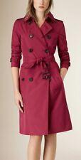 HoBBs Red Saskia Trench Coat /Jacket size 12