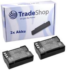 2x AKKU für OLYMPUS E1 E3 E300 E330 E500 E520 BLM1