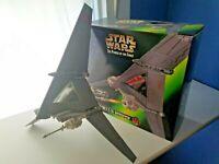 Luke Skywalker's T-16 Skyhopper Ship WITH BOX Star Wars POTF 1996