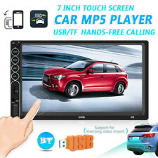 7 Inch Double 2 DIN Car MP5 Player Bluetooth Touch Screen FM Stereo Radio