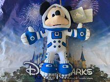 "2020 Disney Parks Blue Astronaut Mickey Mouse Plush New 11"" Space Mountain"