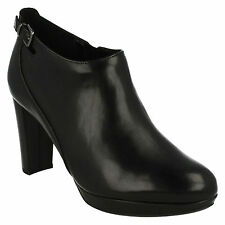 Clarks High Heel (3-4.5 in.) Ankle Boots for Women