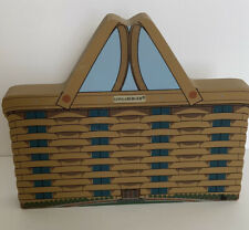 New ListingCat's Meow Longaberger Baskets Basket - 1998 Newark Oh Home Office signed Faline