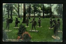 Duke Estate, Somerville, New Jersey NJ Vintage postcard Brownie Band fantasy