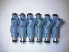 Set of Six ( 6 ) Flow Matched 24 lb/hr EV6 Fuel Injectors Bosch # 0280155849