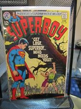 Superboy #157 DC Silver Age Comics 1969 Adventures of Superman Whens He's A Boy
