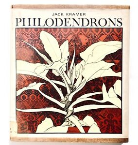 Philodendrons by Jack Kramer 1974 Hardcover 0684136988 houseplants EX LIBRARY