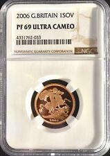2006 Gold Proof Sovereign NGC PF69 Ultra Cameo Sov Great Britain UK