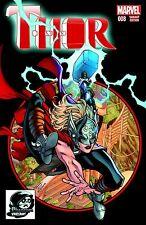 Thor #8 Female Thor REVEALED Phantom Variant homage Marvel Spider-Man #300