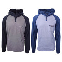 Rip Curl Men's Striped L/S Pocket Henley Hoodie