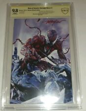 WEB OF VENOM CARNAGE BORN #1 MIKE MEYHEW ULTIMATE SS 9.8 CBCS 300 ONLY!