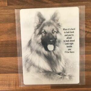 German Shepherd Dog Novelty Sign Alsatian GSD