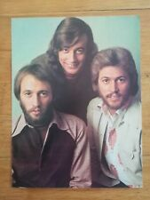 poster 28x20cm ROCK AND FOLK - années 80 - Bee gees