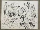 Justice+League+JLA+22x17+Original+Pencil%2FInk+Art+Commission+by+MC+Wyman