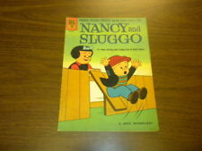 NANCY AND SLUGGO #183 Dell Comics 1961 (with 4 pages of PEANUTS)