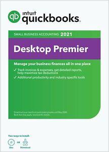 🔥QuickBooks Desktop Premier 2021 [PC Download]