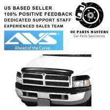 AVS 45551 - Fits 94-02 Dodge Ram Bugflector 3Pc Dark Smoke Hood Protector Shield