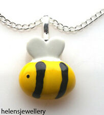 GORGEOUS HANDMADE CUTE BUMBLE BEE NECKLACE + FREE GIFT BAG