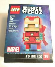 Lego 41604 BrickHeadz Marvel Avengers Iron Man MK50 #35 (Brand New & Sealed)